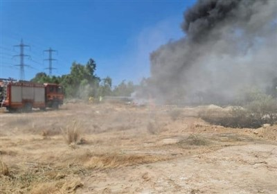 شمال فلسطین اشغالی طعمه آتش شد