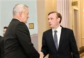 دیدار وزیر جنگ رژیم صهیونیستی و مشاور امنیت ملی آمریکا در کاخ سفید