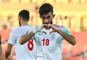 Ali Gholizadeh Named Man of Iran Match with Hong Kong