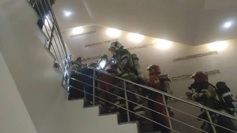 آتشنشانی , سازمان آتشنشانی تهران , آتشسوزی , حوادث , بیمارستان , وزارت بهداشت ,