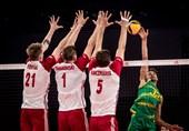 لیگ ملتهای والیبال  فرانسه بدون شکست در صدر/ استرالیا تحقیر شد!