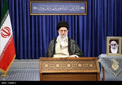 سخنرانی تلویزیونی رهبر معظم انقلاب به مناسبت سالگرد ارتحال امام خمینی(ره)