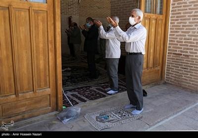 اقامه نماز جمعه در مصلی قزوین