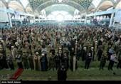 روایت تصویری تسنیم از نماز عبادی سیاسی جمعه اصفهان