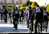 روایت تصویری تسنیم از کاروان دوچرخهسواران عاشقان حسینی رهروان خمینی(ره) در اصفهان