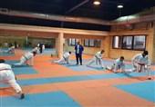 آغاز مرحله چهارم اردوی تیم ملی کاراته