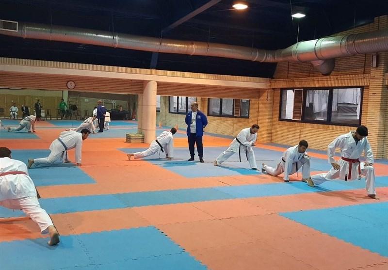 آغاز چهاردهمین مرحله اردوی تیم ملی کاراته آقایان