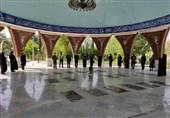 مراسم تجدید میثاق اعضای بسیج رسانه ایلام با آرمانهای امام راحل (ره)+ فیلم
