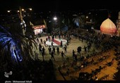 عزاداری شب شهادت امام صادق (ع) در کرمان به روایت تصویر