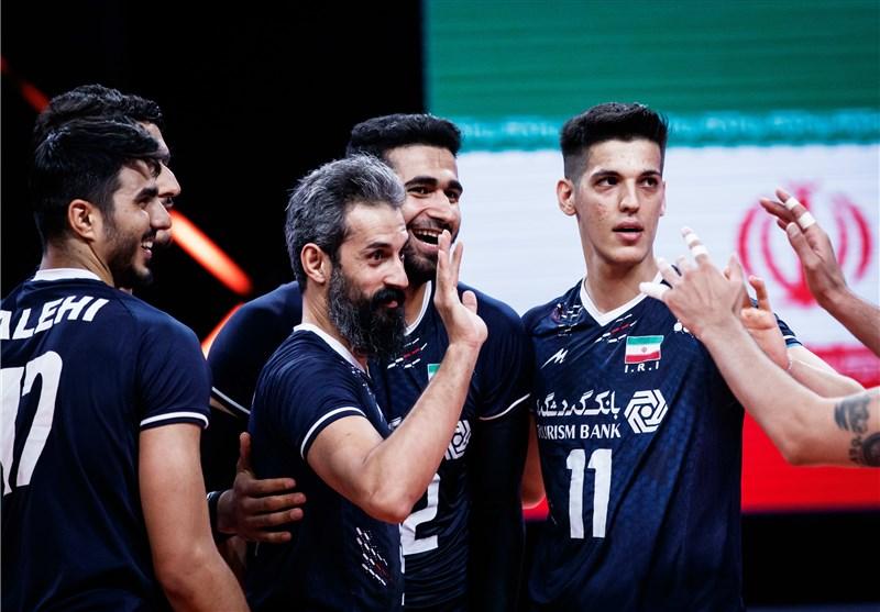 لیگ ملتهای والیبال| صدرنشینی لهستان و ایستادن ایران در رده ششم + جدول و نتایج