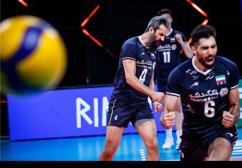 والیبال , لیگ ملتهای والیبال , تیم ملی والیبال ایران ,