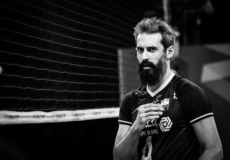 لیگ ملتهای والیبال  علاقه خاص عکاس ایتالیایی به سعید معروف!