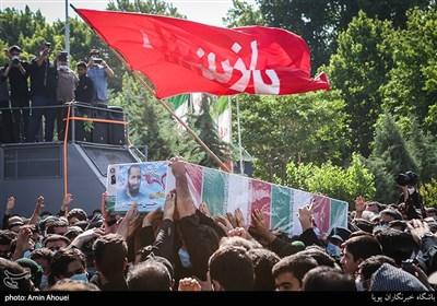تشییع پیکر شهید مدافع حرم حسن عبدالله زاده