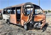 تصادف اتوبوس مسافربری با کامیون در جاده اردبیل - سرچم 2 کشته برجای گذاشت