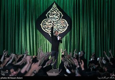 محمدحسین پویانفر در اجتماع عزاداران شهادت امام صادق(ع)
