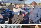 رئیس مجلس وارد ایلام شد/ نظارت میدانی و بازدید در دستور کار قالیباف