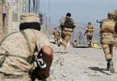 درگیری نیروهای وابسته به امارات و عربستان در تعز یمن