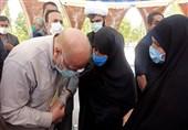 سفر رئیس مجلس شورای اسلامی به استان ایلام به روایت تصویر