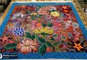 اهدای فرش نفیس دستباف به موزه آستان قدس رضوی