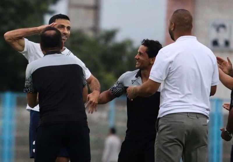 لیگ دسته اول فوتبال  پیروزی پُرگل ملوان در دربی گیلان
