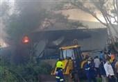 آتشسوزی در کارخانه مواد شیمیایی هند 18 کشته برجای گذاشت+تصاویر