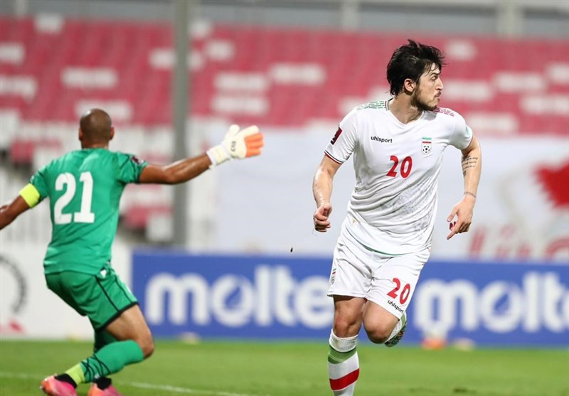 Azmoun Nominated for Asian Qualifiers Player of Month