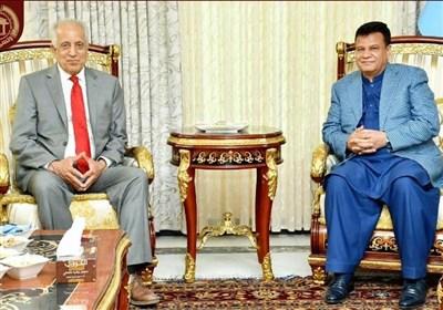 رحمانی در دیدار با خلیلزاد: نقش پارلمان افغانستان در روند صلح جدی گرفته شود