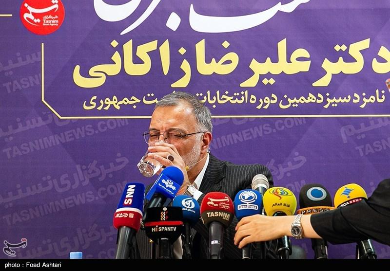 نشست خبری رئیس ستاد انتخاباتی زاکانی در استان زنجان در دفتر تسنیم برگزار میشود 