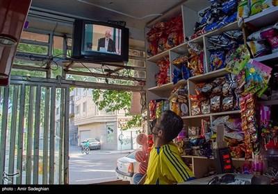 تماشای دومین مناظره نامزدهای ریاست جمهوری -شیراز