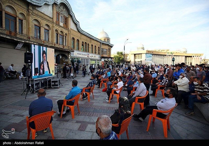تماشای دومین مناظره نامزدهای ریاست جمهوری - همدان