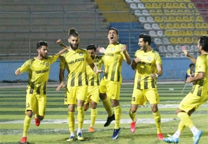 لیگ دسته اول فوتبال|پیروزی تیم پارس جنوبیجم و بازگشت به کورس صعود
