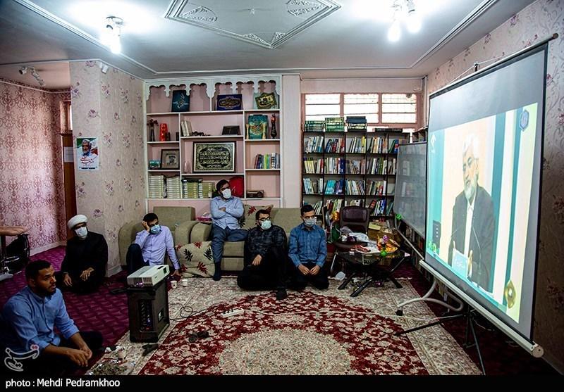 تماشای دومین مناظره نامزدهای ریاست جمهوری -اهواز