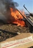 سقوط دو فروند بالگرد نظامی در لیبی