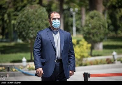 حسینعلی امیری معاون پارلمانی رئیس جمهور در حاشیه جلسه هیئت دولت