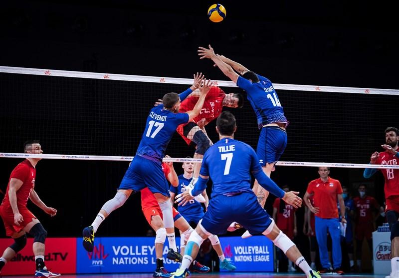 لیگ ملتهای والیبال| فرانسه و ژاپن پیروز شدند