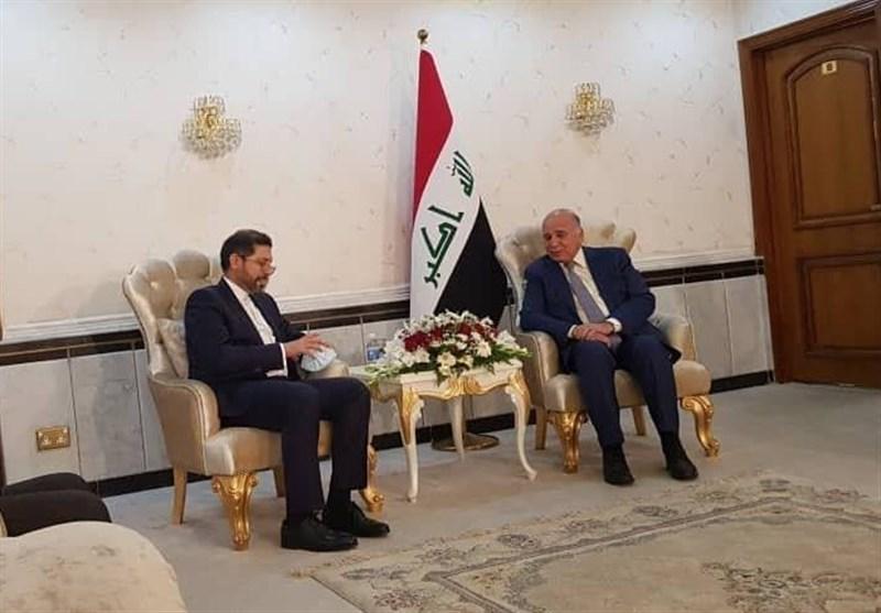 Iranian Spokesman, Iraqi FM Discuss Bilateral Ties, Regional Developments