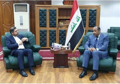 دیدار سخنگوی وزارت امور خارجه با وزیر فرهنگ عراق