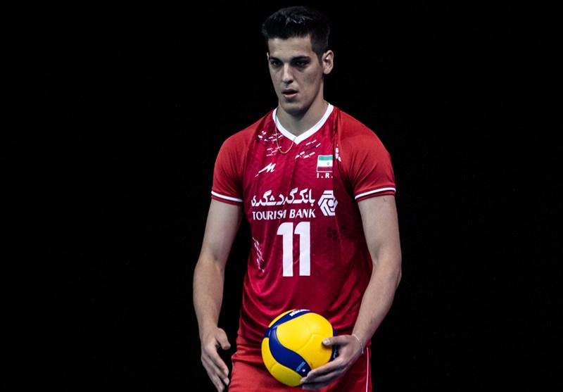 Saber Kazemi Named 2021 Asian Volleyball C'ship MVP