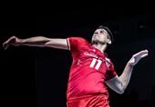 لیگ ملتهای والیبال|کاظمی امتیازآورترین بازیکن ایران شد