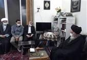 نایب رئیس مجلس با آیتالله حسینی زنجانی دیدار کرد