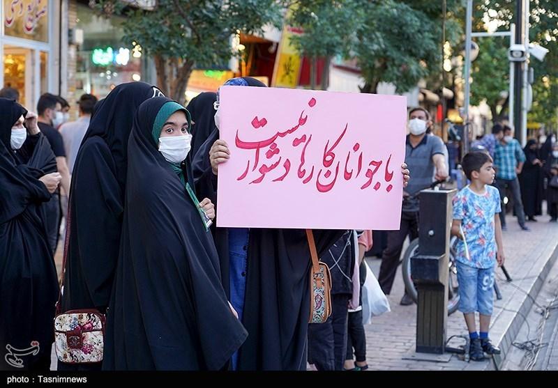 حضور نیکزاد در زنجان به روایت تصویر