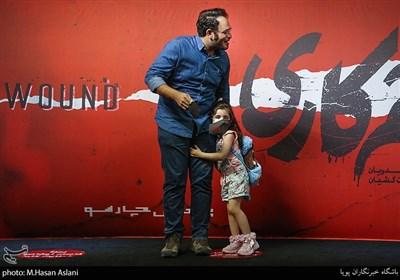محمدحسین مهدویان و دخترش کارگردان سریال «زخم کاری»