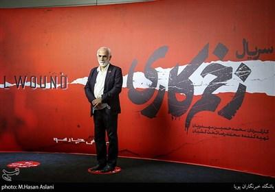 حبیب الله والی نژاد در اکران خصوصی سریال «زخم کاری» به کارگردانی محمدحسین مهدویان