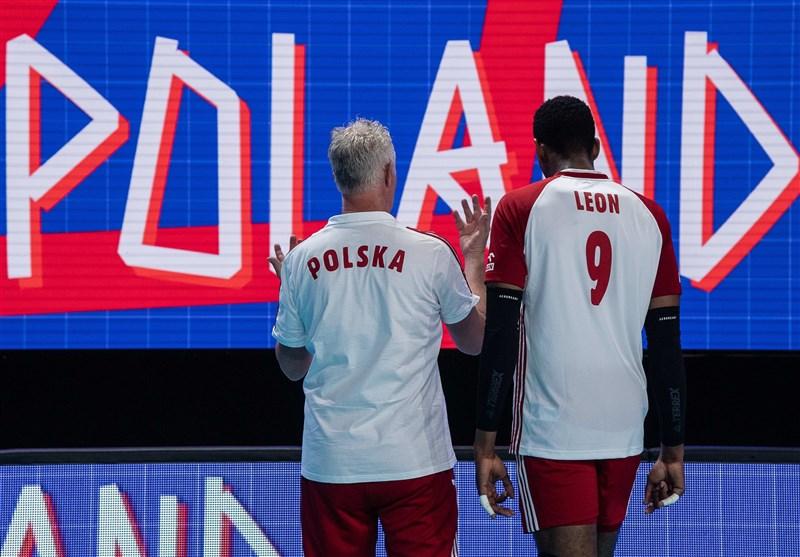 لیگ ملتهای والیبال| لهستان به صدر جدول رسید/ ایران در جایگاه پنجم