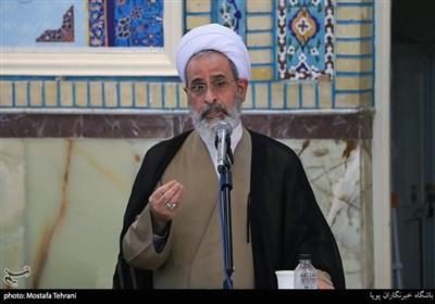 سخنرانی آیت الله اعرافی کاندیدای مجلس خبرگان رهبری