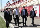 بازدید مدیرکل سازمان بازرسی کل کشور در امور ورزش از امکانات پرسپولیس