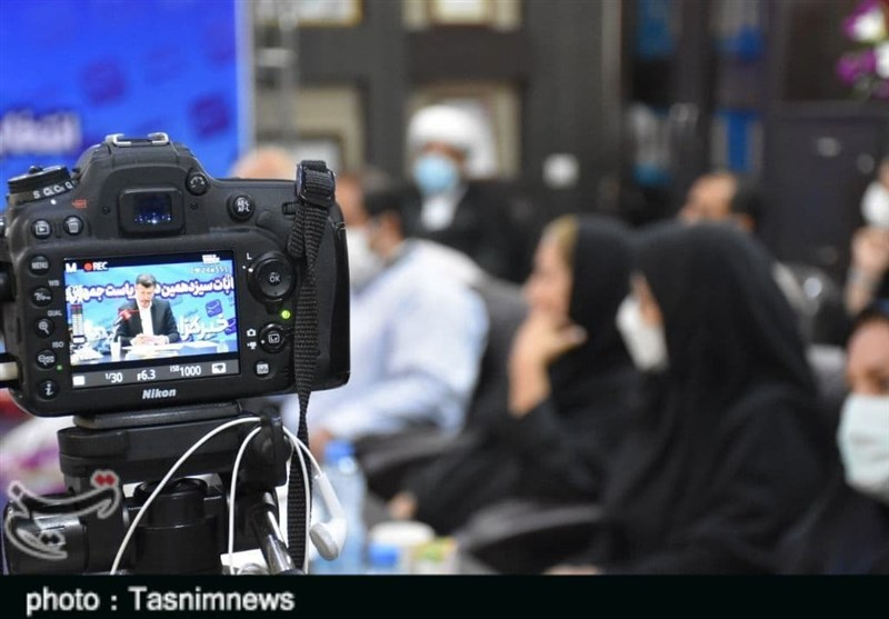 نشست خبری رئیس شورای هماهنگی ستادهای مردمی آیتالله رئیسی در استان لرستان از قاب دوربین + فیلم