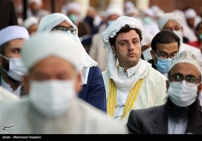 دیدار سیدابراهیم رئیسی با علمای اهل تسنن کشور