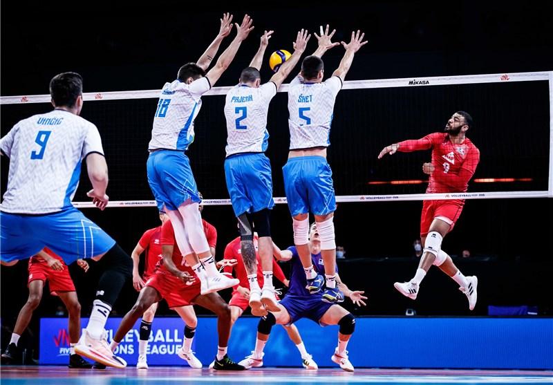 لیگ ملتهای والیبال| فرانسه تسلیم اسلوونی شد/ پیروزی آسان آمریکا مقابل آلمان