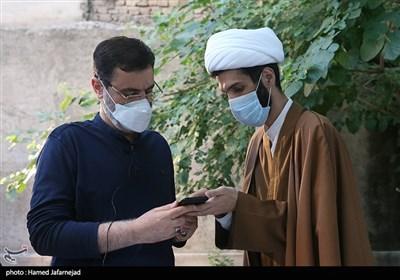 دیدار سید امیرحسین قاضیزاده هاشمی با فعالان فضای مجازی
